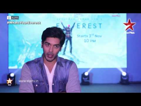 Everest on STAR Plus: Aakaash Joshi shares his experience!