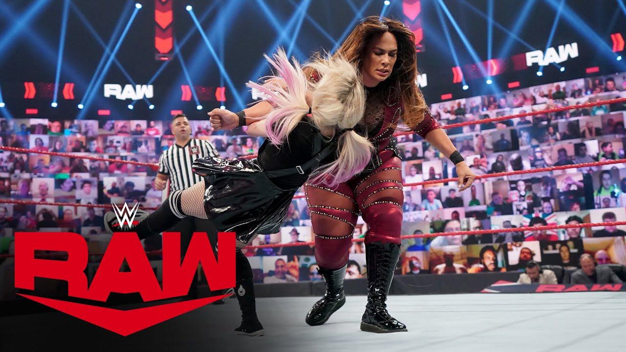 Download Alexa Bliss vs. Nia Jax: Raw, June 14, 2021