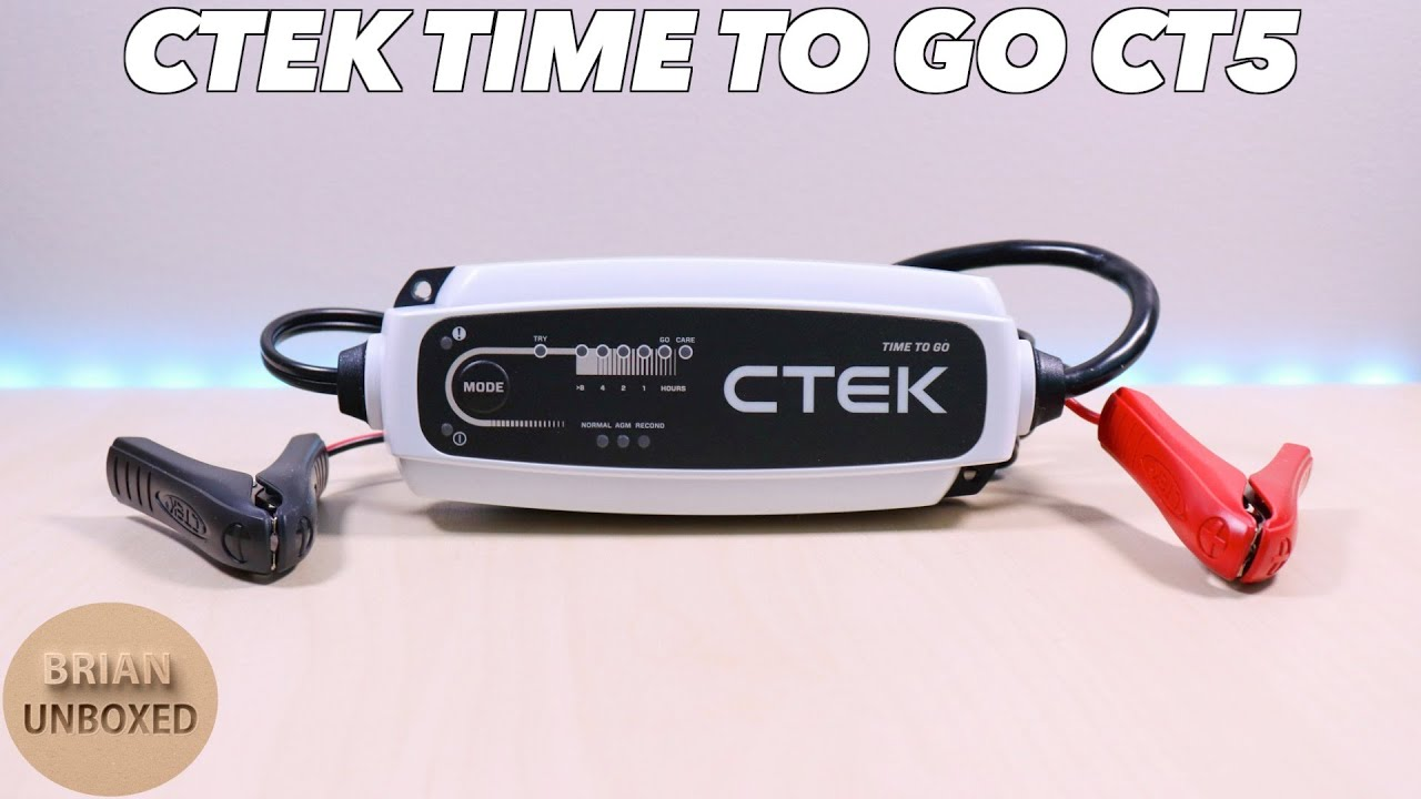 Ctek Ct5 Time To Go Charger Review Demo Youtube Wiring Diagram