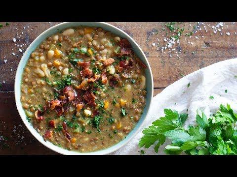 Crockpot Lentil Soup | Comfort Food For The Soul