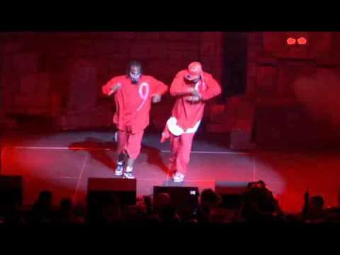Tech N9ne & Kutt Calhoun Performing Blood Walk