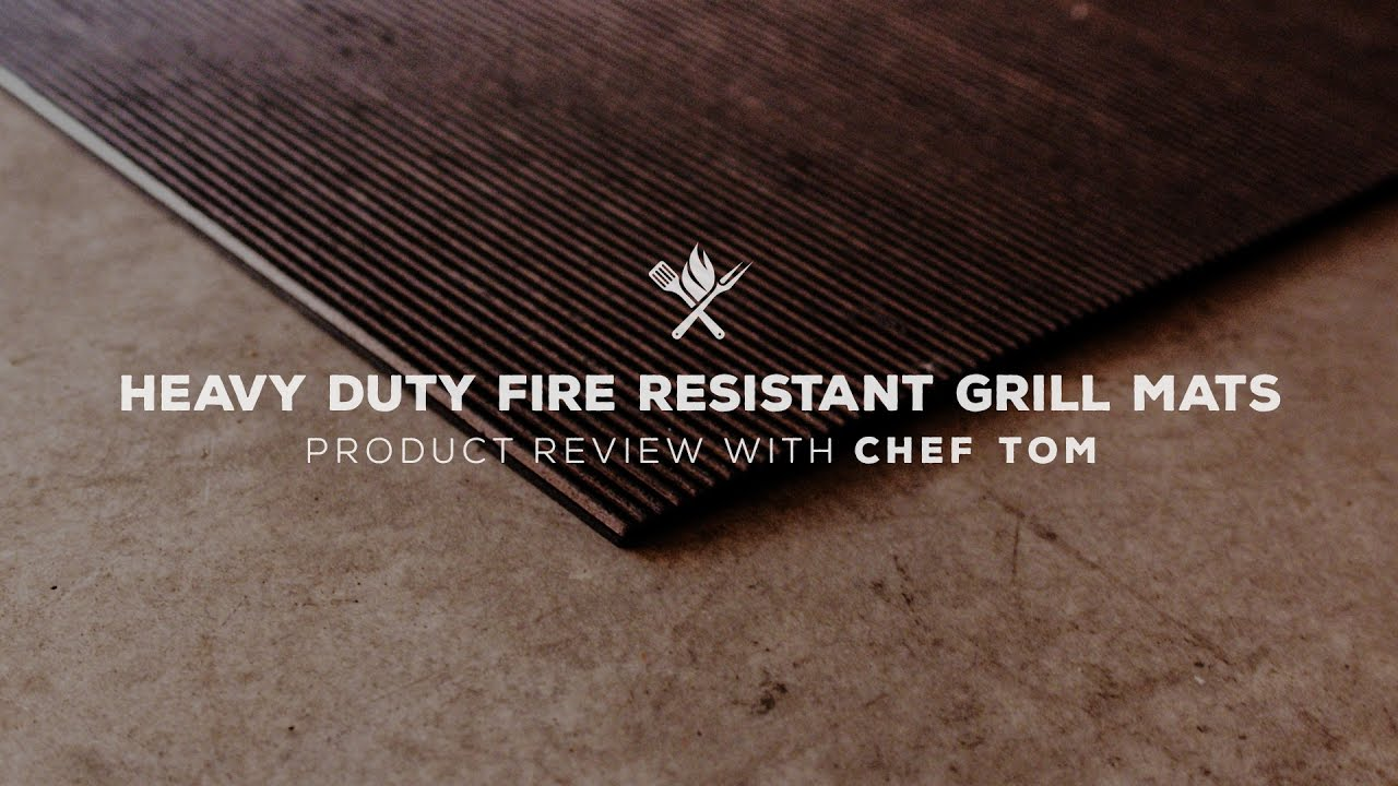 Heavy Duty Fire Resistant Grill Mat Product Roundup By