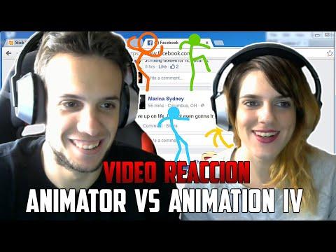ANIMATOR VS. ANIMATION IV | YUGO Y YAIMA VÍDEO REACCIÓN
