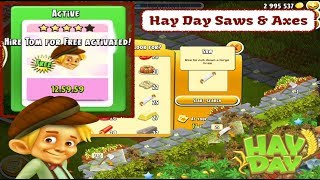 Hay Day - Saws And Axes - Ways to get them for your farm.