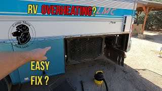 Cummins 8.3 overheating on grade. Easy Fix  Ranch 2019 part 1  Camp More Bark Less