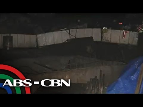 UKG: Bahagi ng riprap sa Marikina, gumuho; 10 pamilya apektado