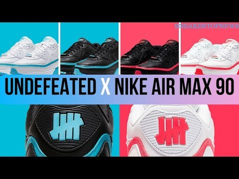 The UNDEFEATED X Nike Air Max 90