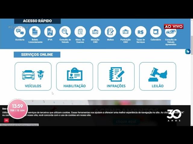 Atendimento presencial: DETRAN-PB disponibiliza mais opções de agendamentos - Com Você