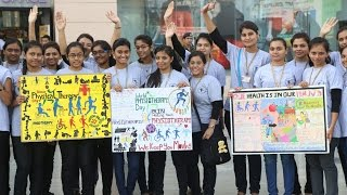 Parul Institute_World Physiotherapy Day 2014