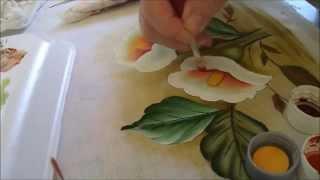 Pintura em Tecido – Série Iniciante Copo de Leite – Flor