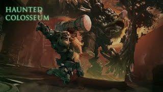 haunted colosseum, dota 2 castom games, diretide 2015