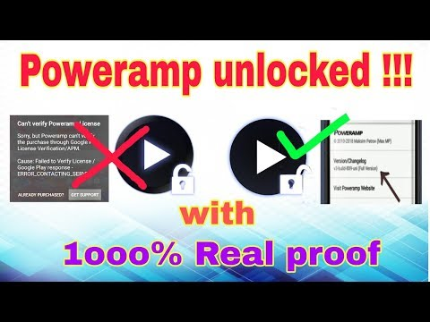 Poweramp Unlocker 2018 [no Root] | Poweramp Unlocker Key.