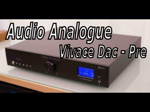 Audio Analogue Vivace Dac + Pre Test  di Sbisa' www audiocostruzioni com HD