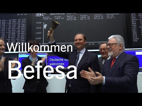 Börsengang (IPO) Befesa S.A.