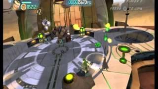 Monsters vs. Aliens Movie Game Walkthrough Part 15 (Wii)