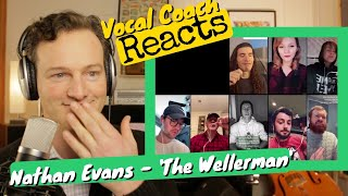 Vocal Coach REACTS - Nathan Evans 'The Wellerman'