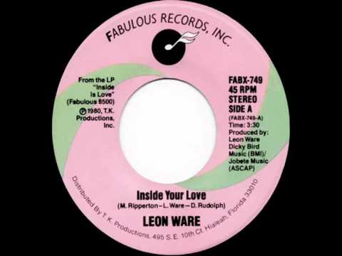 Leon Ware - Inside Your Love (Dj ''S'' Bootleg Extended Dance Re-Mix)