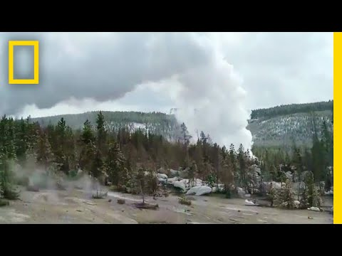 World's Most Powerful Geyser Erupts Three Times After Years of Quiet | National Geographic