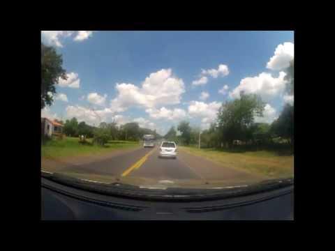 Time lapse viaje Asunción - Villa Florida por Acceso Sur y Ruta I