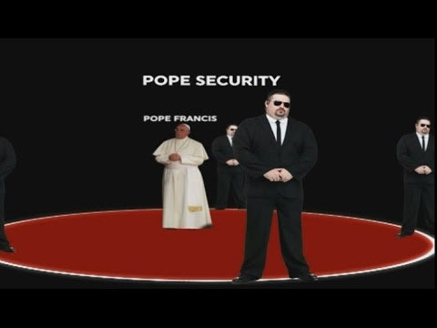 Providing security for the Pope