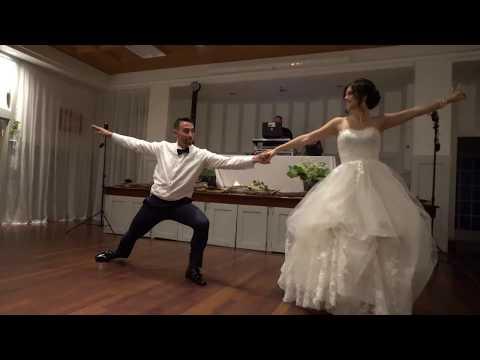 Wedding first dance of Nicole & Ben on Micheal Bublé - Feeling good. Choreographer: Dominic Boyer