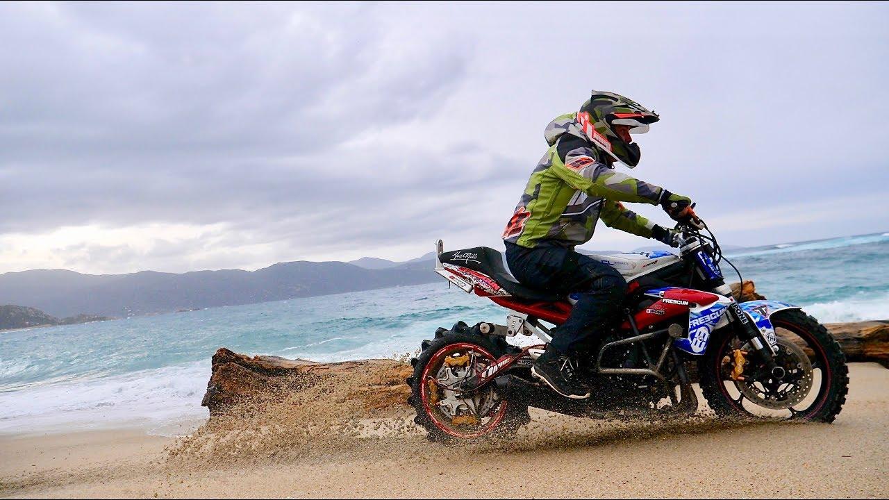 sportbike offroad julien welsch stuntbike on dirt youtube