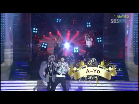 (HD)YG FAMILY - (LIVE) HIP HOP FREEDOM & SOUL GD @Gayo Daejun 29/12/07