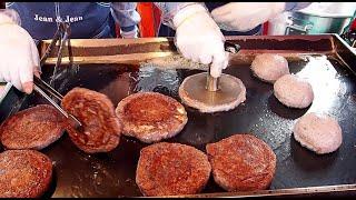 버터로 구운 치즈 호떡,수수호떡 / cheese susu hotteok(pancake) / korean street food