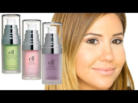 E.L.F. Studio Face Primers - These Are AMAZING! A MUST-HAVE!