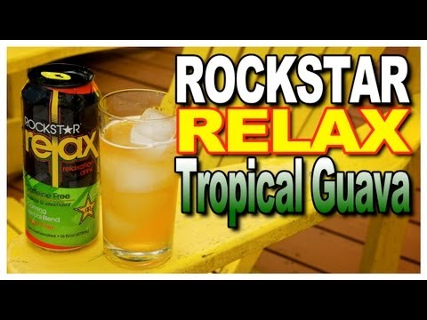 Rockstar Relax Tropical Guava Flavour Taste Test