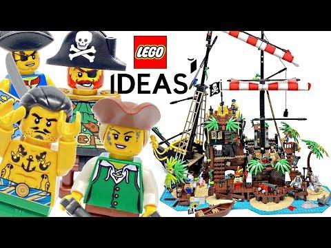 LEGO Ideas Pirates of Barracuda Bay review! 2020 set 21322!