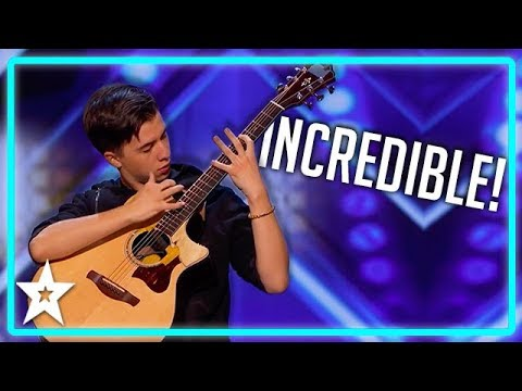 Unbelievable Guitarist SHOCKS Judges on America's Got Talent 2019 | Kids Got Talent