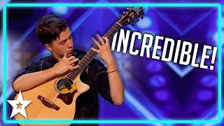 Unbelievable Guitarist SHOCKS Judges on America
