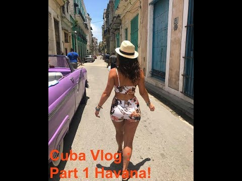 HAVANA CUBA VLOG | PT.1 | Janelle Marie
