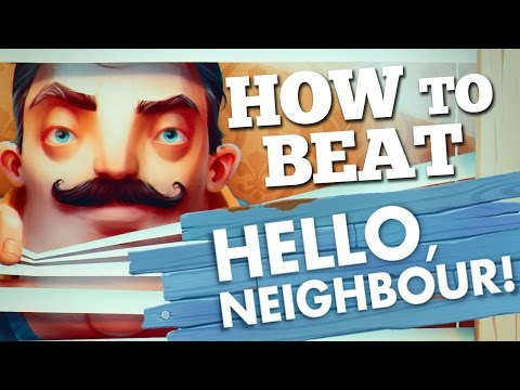 How To Beat Hello Neighbor Alpha 1 (In 3 different ways)
