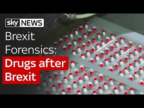 Brexit Forensics: Drugs after Brexit. Patients could face medicine shortage