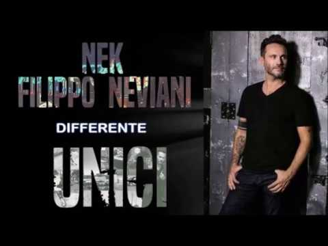 Nek - Differente - UNICI 2016 (TESTO)
