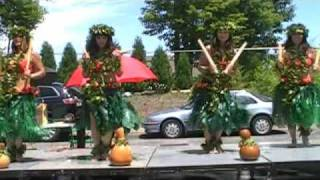 Hula dancers use puili  slit sticks made from bamboo