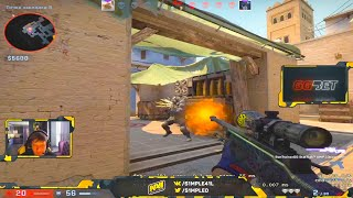 S1mple demolishes FACEIT LVL 10