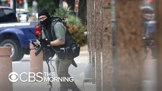 Investigators probing Dallas federal courthouse shooting