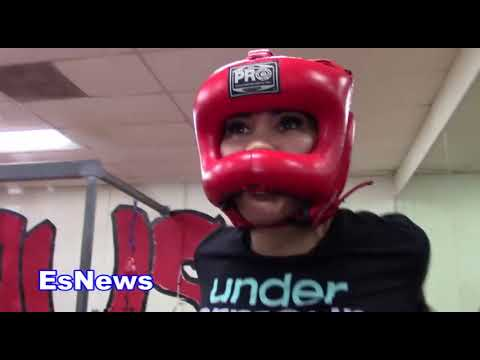 Mia St John To Help Cyborg Get Ready For Holm Es Boxing
