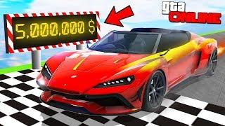 LAMBORGHINI + FERRARI = СУПЕР ТУРБО ПУШКА! НОВЫЙ СУПЕРКАР ЗА 5.000.000$ В GTA 5 ONLINE
