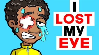 I LOST MY EYE PLAYING WITH FIRECRACKER | share my story animated | Life Diary