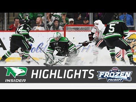 North Dakota vs. St. Cloud State   NCHC Semifinal   UND Hockey Highlights   3/16/18
