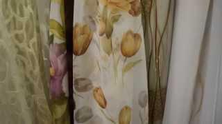 Тюль шифон. 4749. Рисунок - цветок тюльпаны. Коричневые тона. Тюль в Украинке.(http://rodus.com.ua/ http://rodus.com.ua/tyul/4408/tyul-72-detail.html Салон-магазин штор, гардин и ламбрекенов Изумруд, предлагает шторные..., 2015-01-19T14:55:31.000Z)