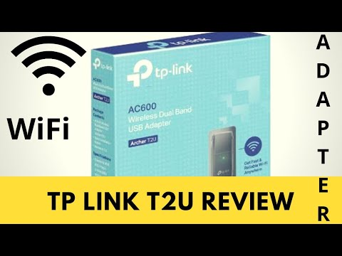 TP Link T2U Review: Cheapest & Best Dual Band WiFi Adapter USB (2 4GHz vs  5GHz) - How To Setup