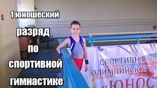 1 юношеский разряд по спортивной гимнастике.