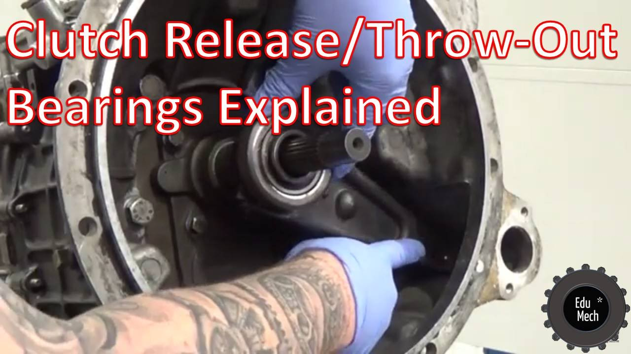 Clutch Release Bearing Throw Out Explained How It Works 2000 Dodge Ram 1500 Trailer Wiring Diagram Youtube