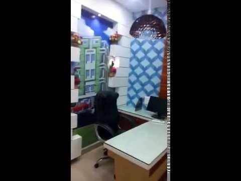 Small Office Interior Design Decoration Kolkata By Ashiana Interiors Youtube