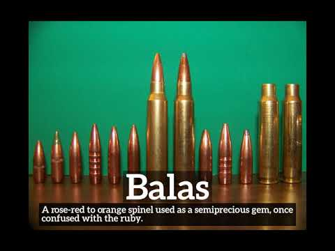 How Does Balas Look How To Say Balas In English What Is